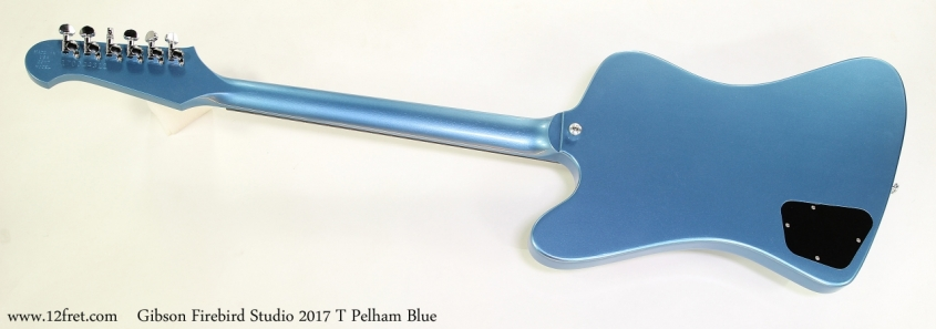 Gibson Firebird Studio 2017 T Pelham Blue Full Rear View