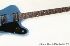 Gibson Firebird Studio 2017 T Pelham Blue Full Front View