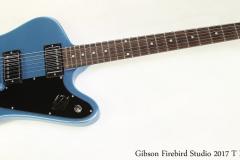 Gibson Firebird Studio 2017 T Pelham Blue Full Front View