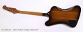 Gibson Firebird T Vintage Sunburst 2017 Full Rear View