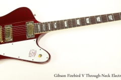 Gibson Firebird V Through-Neck Electric Red, 1981   Full Front View