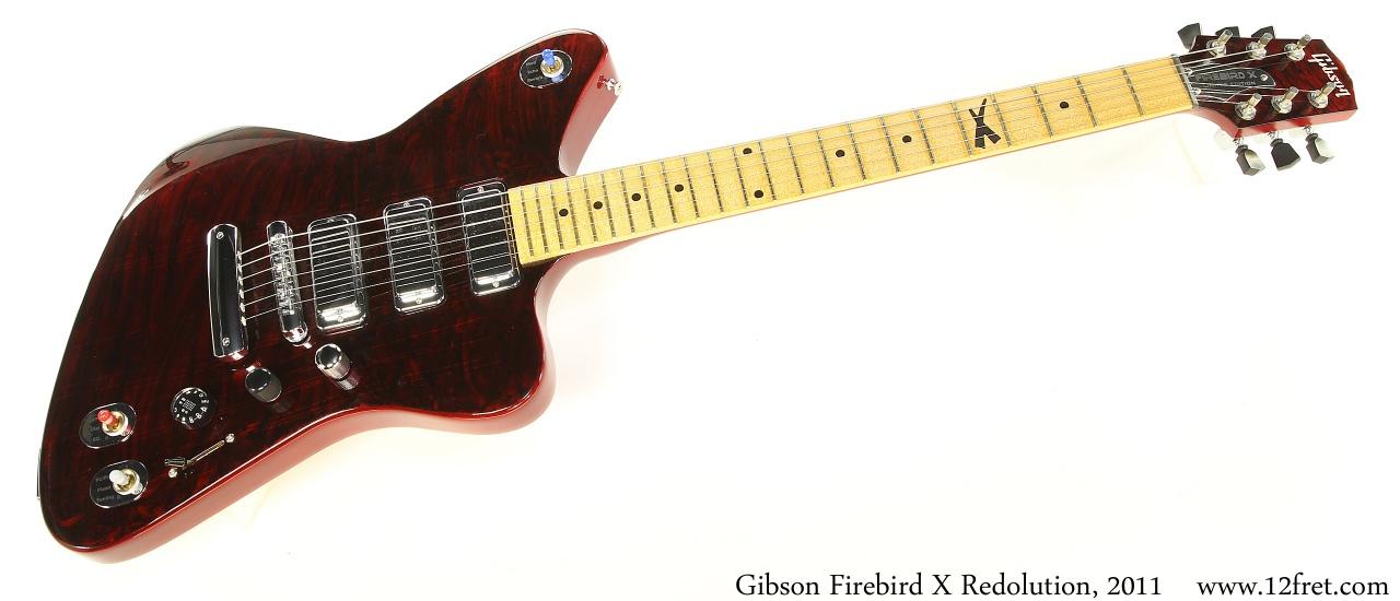 Gibson Firebird X Redolution, 2011 Full Front View