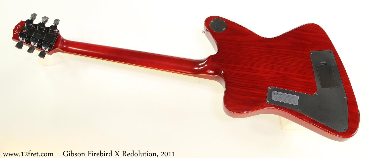 Gibson Firebird X Redolution, 2011 Full Rear View