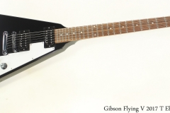 Gibson Flying V 2017 T Ebony Full Front View