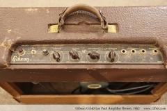 Gibson GA40 Les Paul Amplifier Brown, 1952 Controls View
