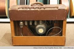 Gibson GA40 Les Paul Amplifier Brown, 1952 Full Rear View