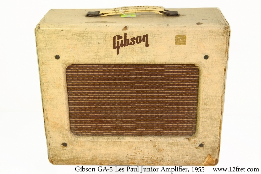 Gibson GA-5 Les Paul Junior Amplifier, 1955 Full Front View
