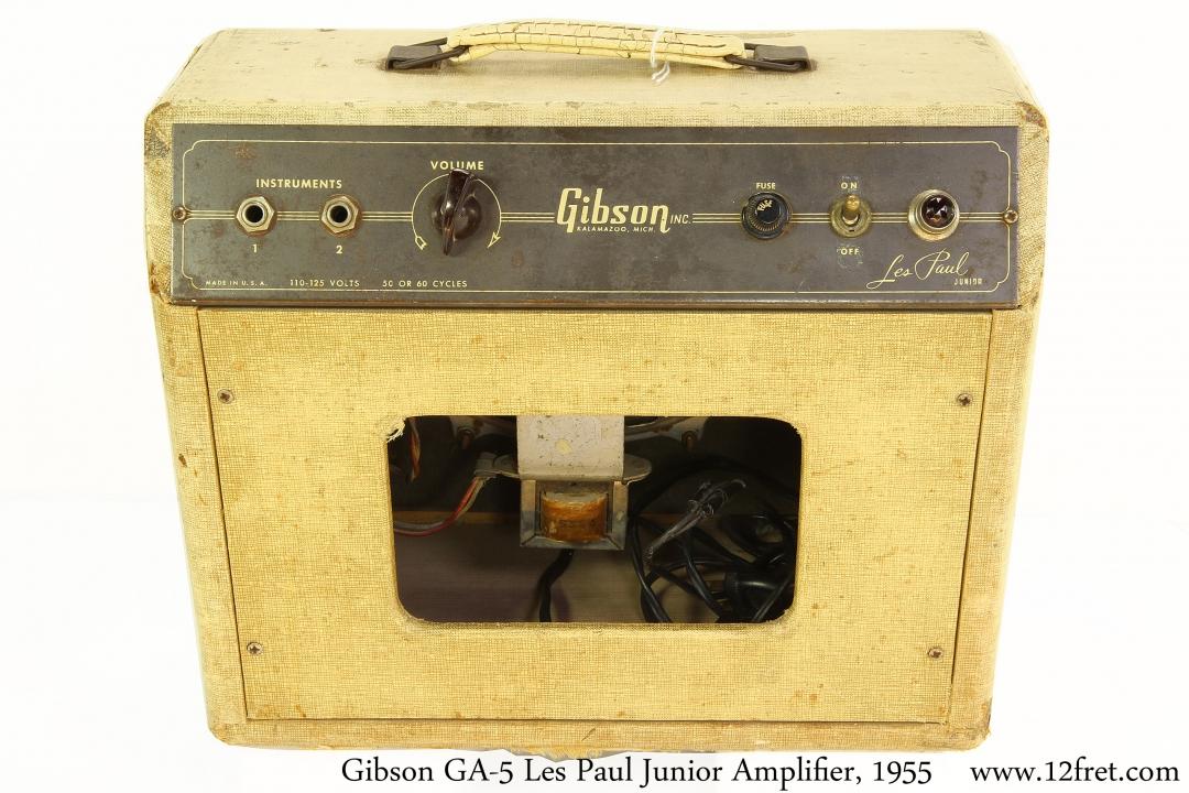 Gibson GA-5 Les Paul Junior Amplifier, 1955 Full Rear View