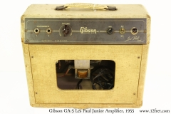 Gibson GA-5 Les Paul Junior Amplifier, 1955 Full Rear View