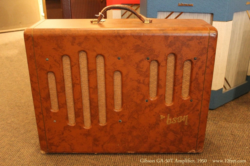 Gibson GA-50T Amplifier, 1950 Full Front View