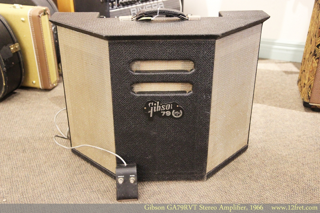 Gibson GA79RVT Stereo Amplifier, 1966 Full Front View