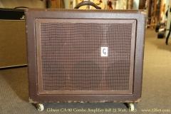 Gibson GA-90 Combo Amplifier 6x8 25 Watt, 1953   Full Front View