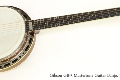 Gibson GB-3 Mastertone Guitar Banjo, 1926  Full Front View