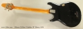Gibson G3 Bass 'Grabber III' Ebony, 1976 Full Rear View