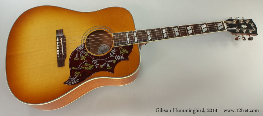 Gibson Hummingbird, 2014 Full Front View