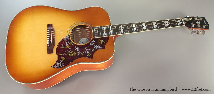 The Gibson Hummingbird Full Front View
