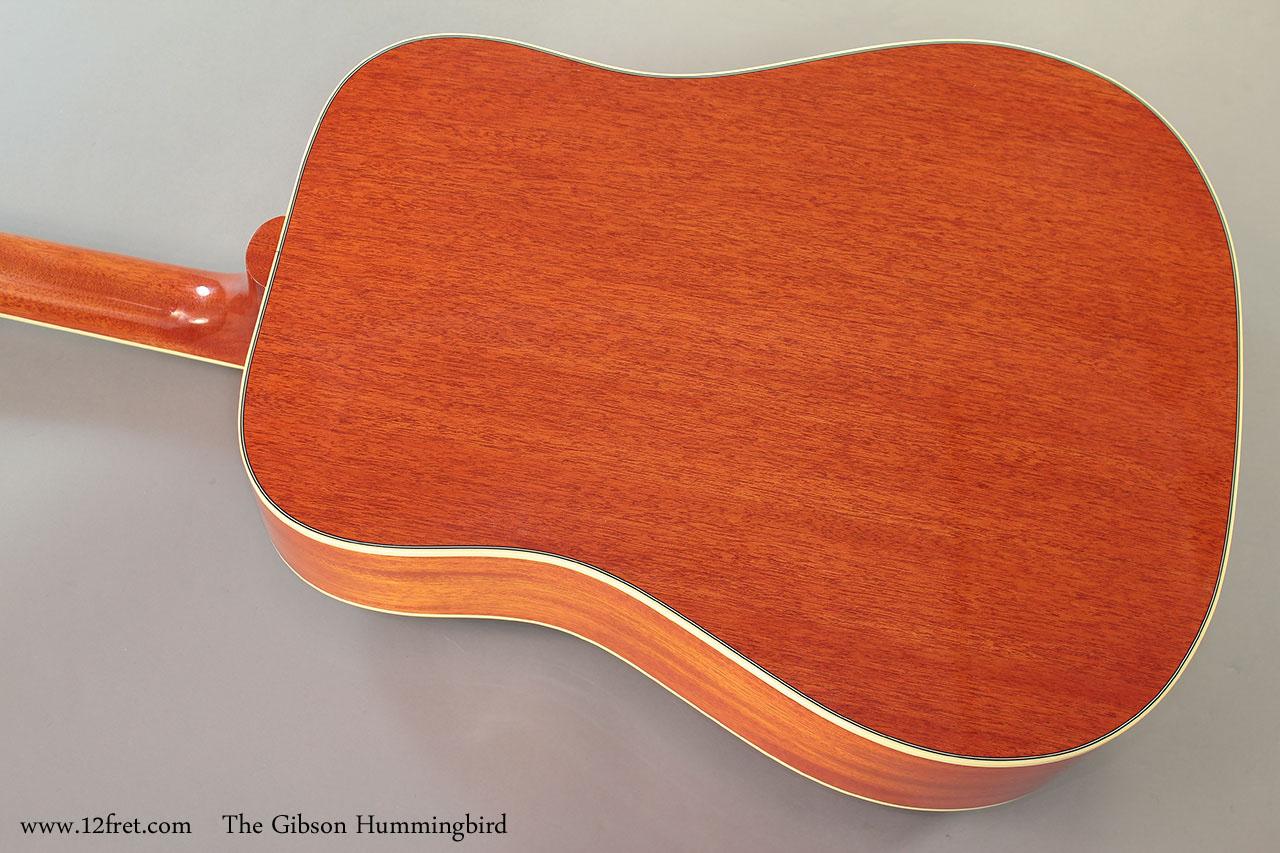 The Gibson Hummingbird Back