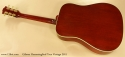 Gibson Hummingbird True Vintage 2011 full rear view