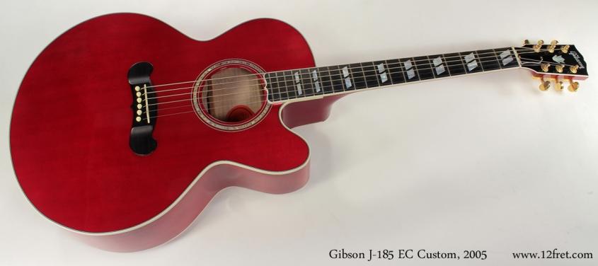 Gibson J-185 EC Custom 2005 full front view