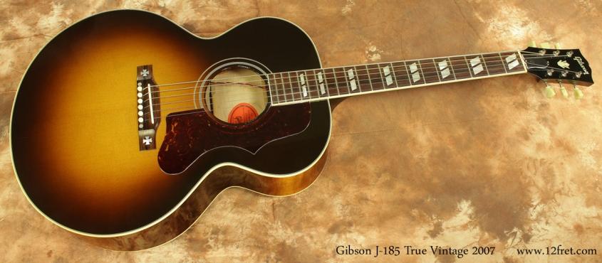 Gibson J-185 True Vintage 2007 full front