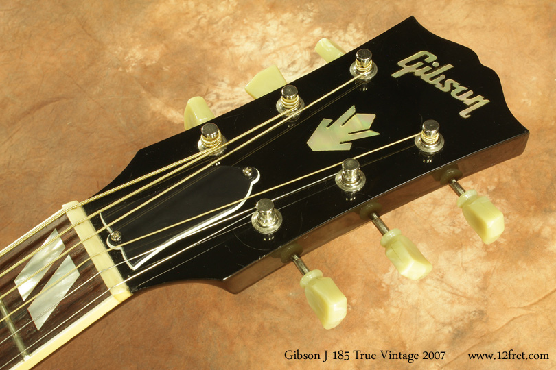 Gibson J-185 True Vintage 2007 head front