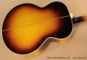 Gibson J-200 Sunburst 1959 back