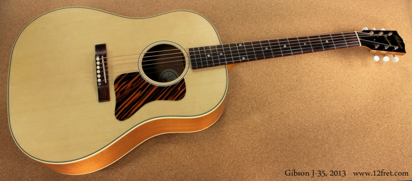 Gibson J-35 full front view