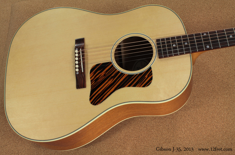 Gibson J-35 top