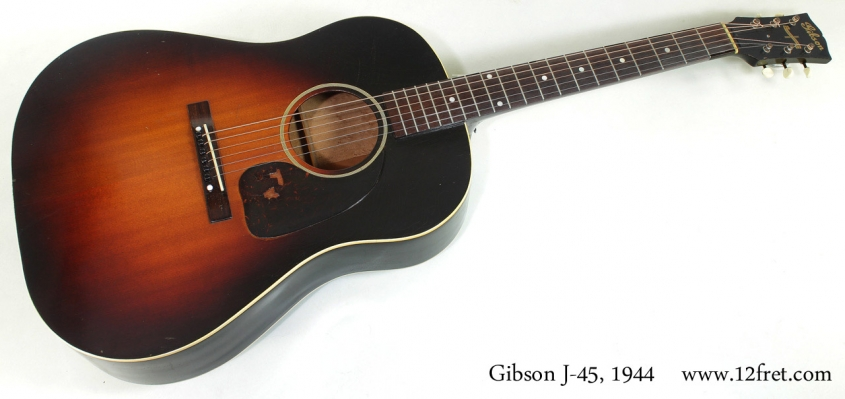 Gibson J-45 1944 full front view