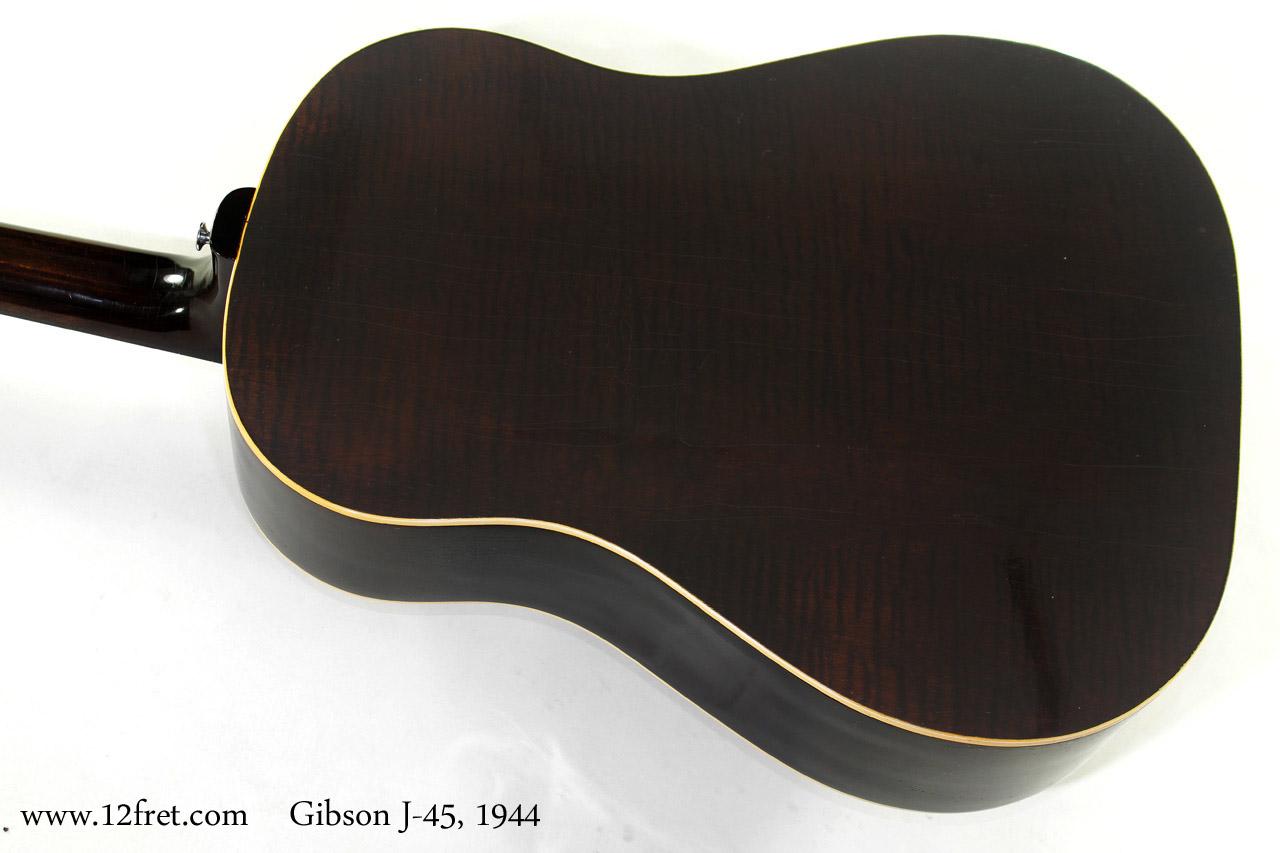 Gibson J-45 1944 back