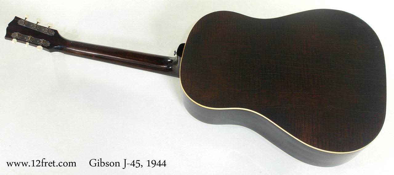 Gibson J-45 1944 full rear view