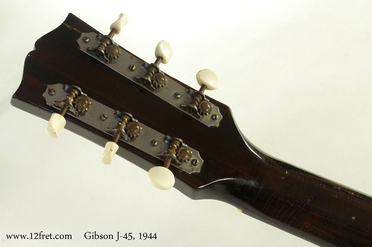 Gibson J-45 1944 head rear