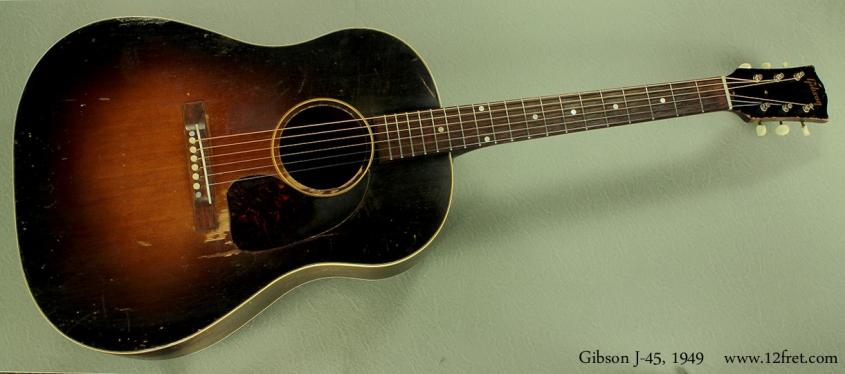 Gibson J-45, 1949 full front