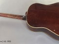 Gibson J-45 1955 full rear view