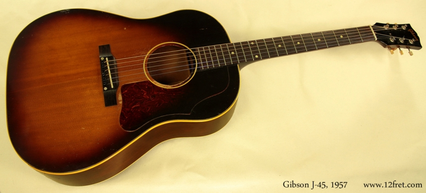 Gibson J-45, 1957 full front view