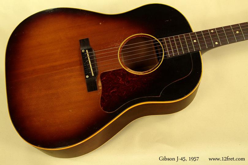 Gibson J-45, 1957  top