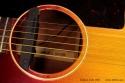 Gibson J-45 Cherryburst 1961 soundhole