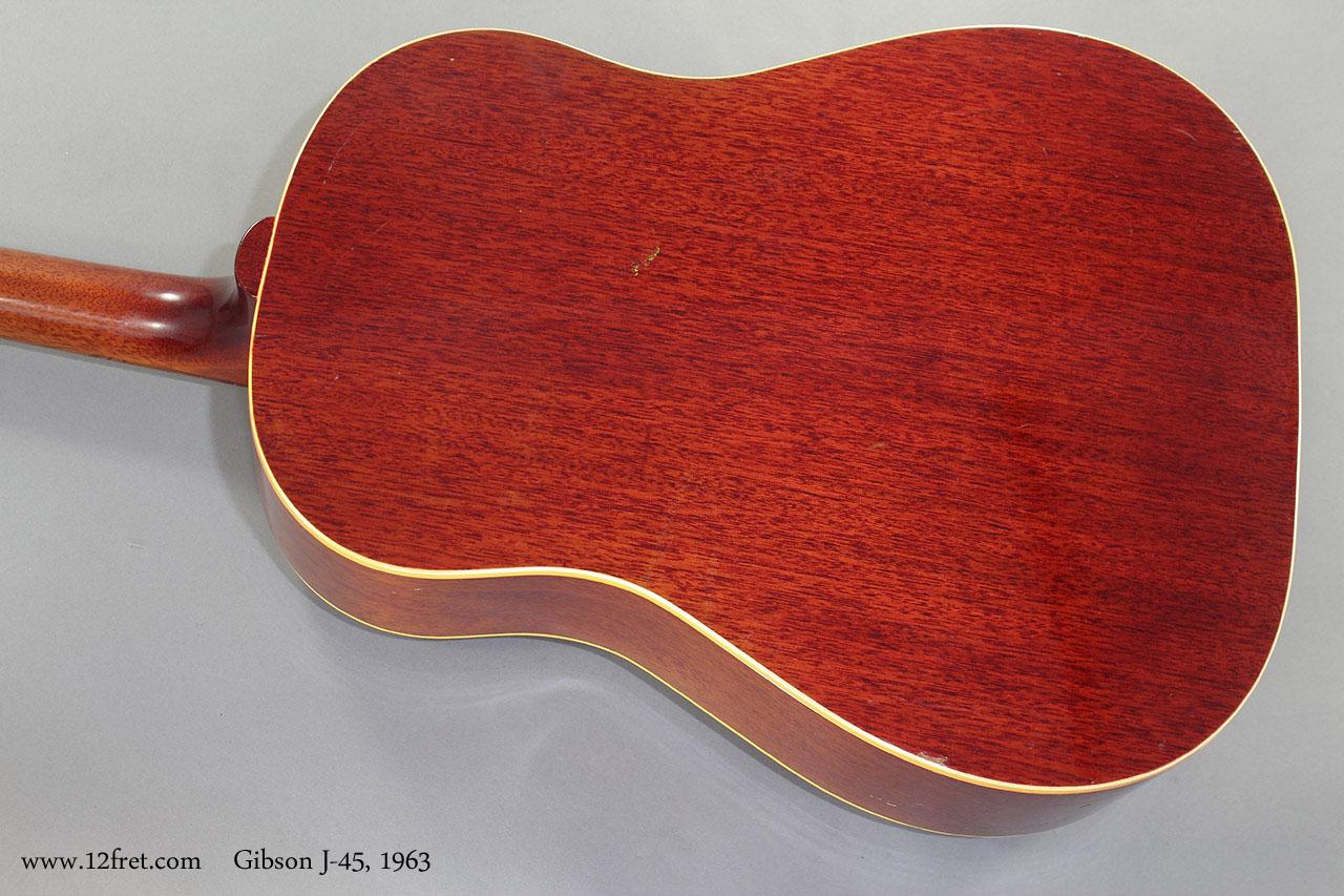 Gibson J-45 1963 back