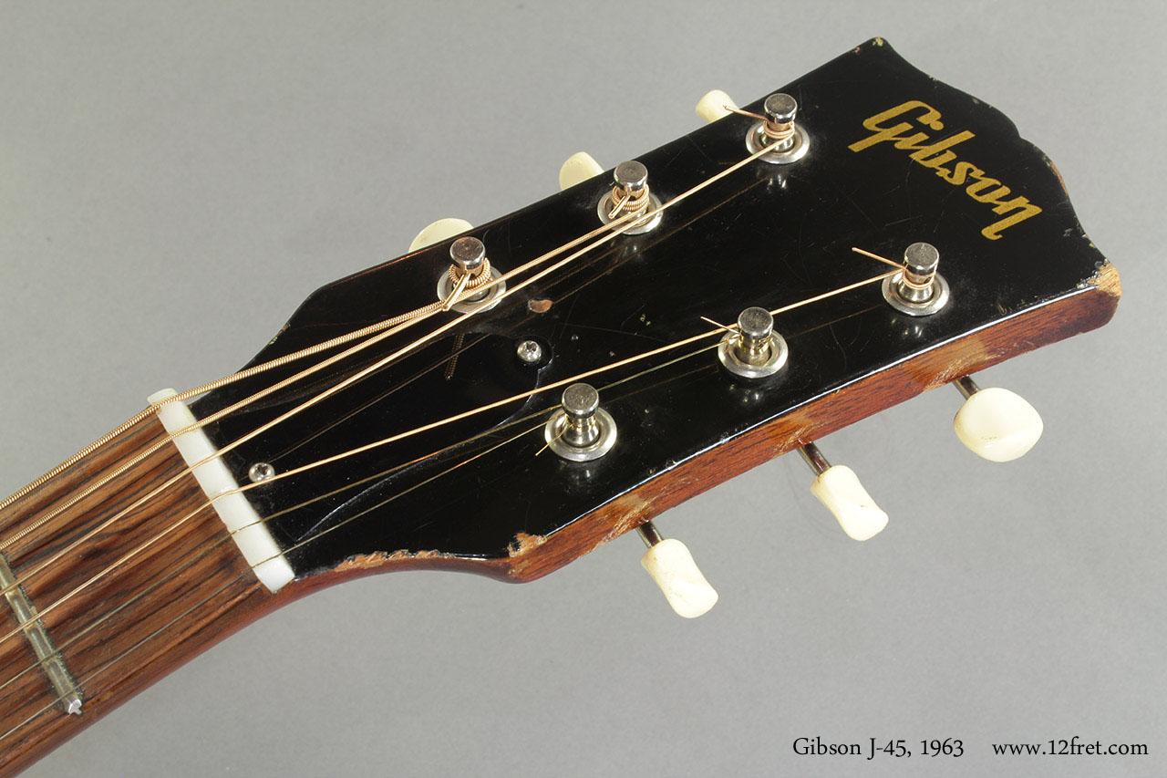 Gibson J-45 1963 head front
