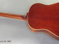 Gibson J-45 1963 full rear view