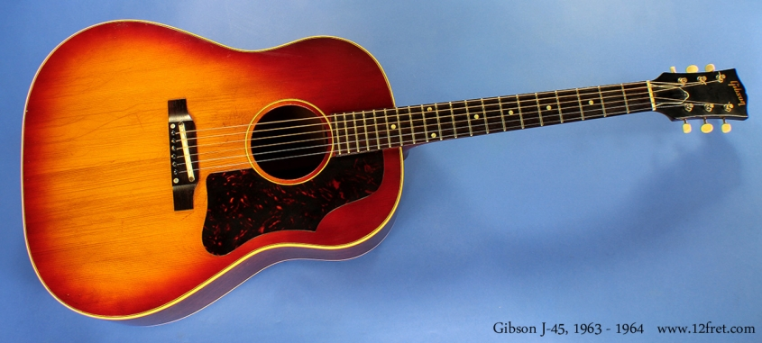 Gibson J-45 1963 - 1964 cons full front