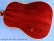 Gibson J-45 1963 - 1964 cons back