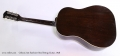 Gibson J-45 Sunburst Steel String Guitar, 1948 Full Rear View