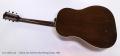 Gibson J-45 Sunburst Steel String Guitar, 1952 Full Rear View