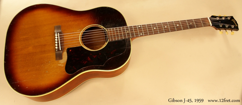 Gibson J-45 1959  full front view