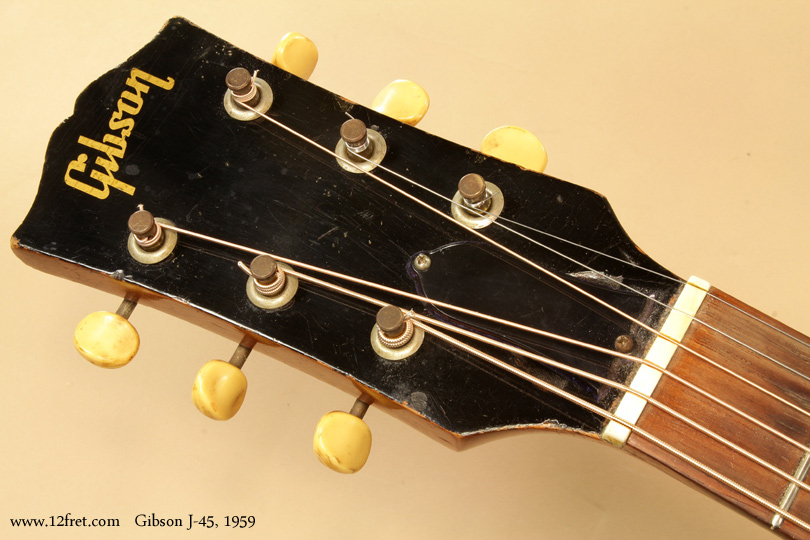 Gibson J-45 1959  head front