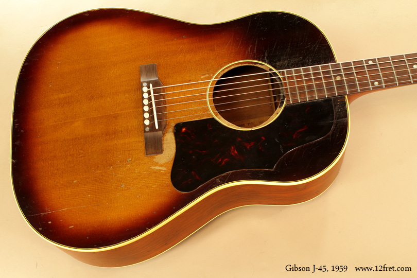 Gibson J-45 1959  top