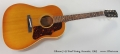 Gibson J-45 Steel String Acoustic, 1963 Full Front View