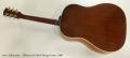 Gibson J-45 Steel String Guitar, 1966 Full Rear View