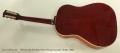 Gibson J-45 Sunburst Steel String Acoustic Guitar, 1962 Full Rear View